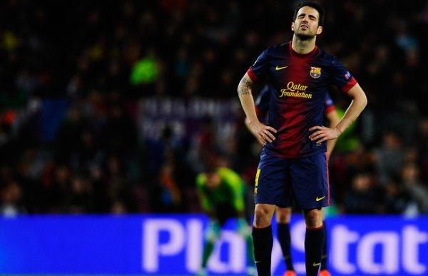 Cesc Fabregas refuse de discuter de Barcelone avenir