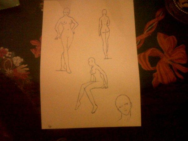Quelques dessins... Ne soyez pas trop dur please...