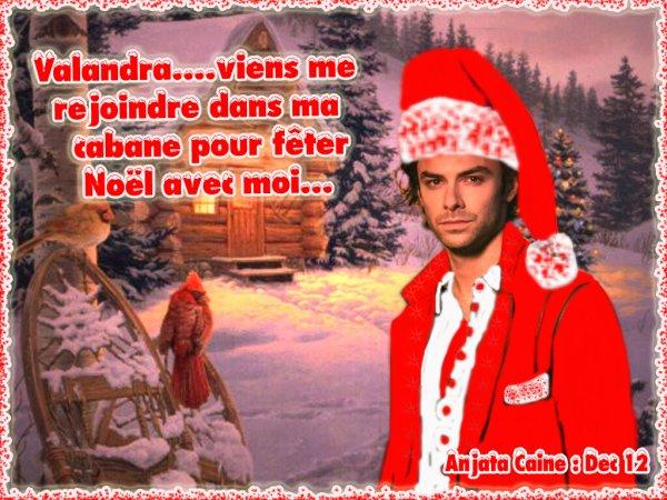 Aaah quand mon Amie Valandra a un nouveau chouchou de Noël..hi hi..