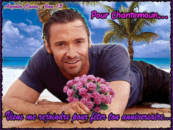 Pour l'anniversaire de Chantemoun...