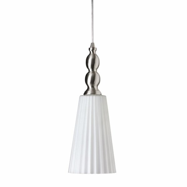 Dainolite 1038-1P 1 Light Glass Pendant
