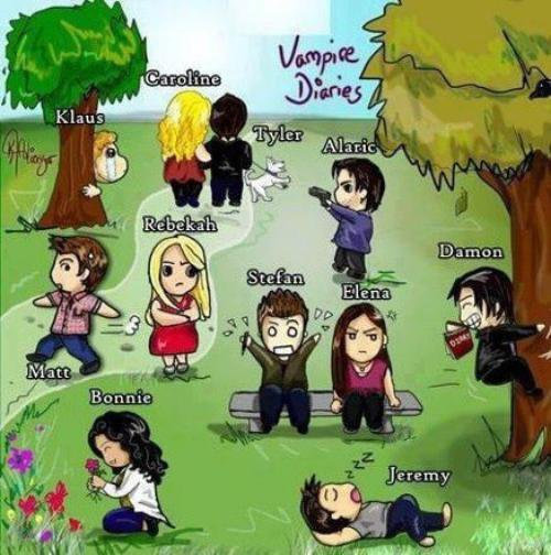 Vampire Diaries Version BD