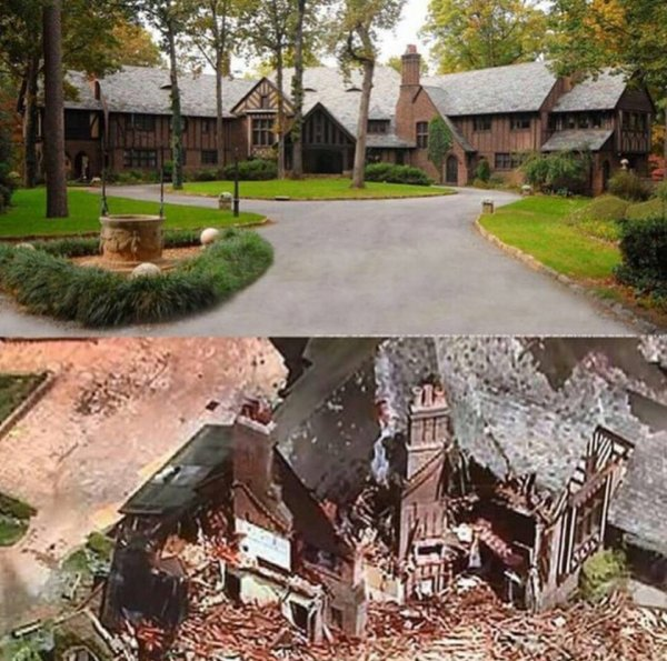 Le manoir des Salvatore a été détruit...