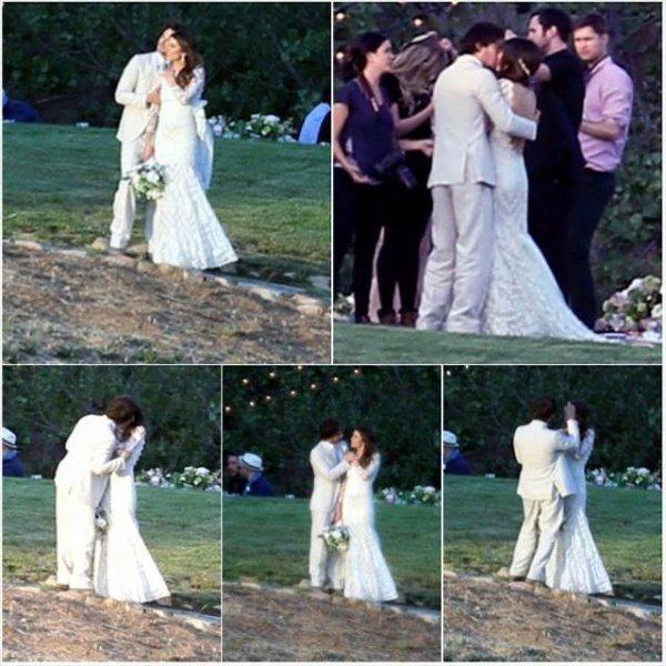 Ian c'est marié hier avec Nikki Reed!