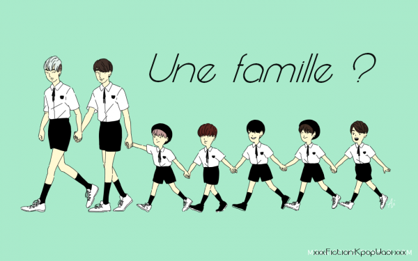 Une famille ? ~ OS Namjin & Vkook