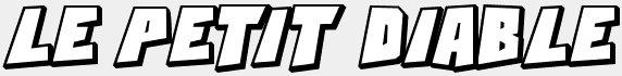 FICTION # 01 : LE PETIT DIABLE (Synopsis et Liens)