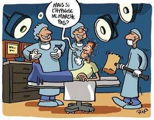 Opération de la tyroïde