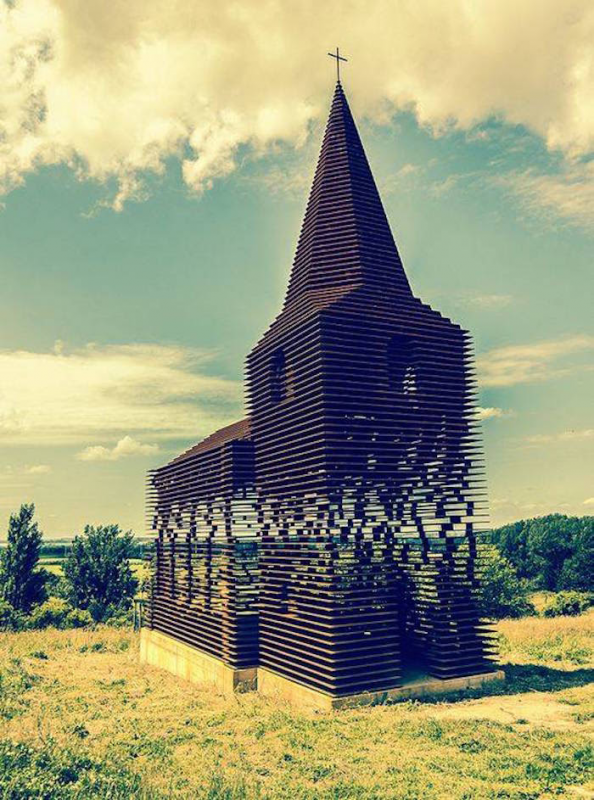 Une église unique au monde...