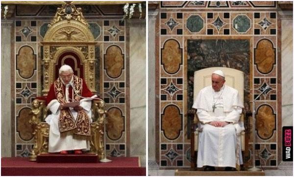 Un pape si différent.......
