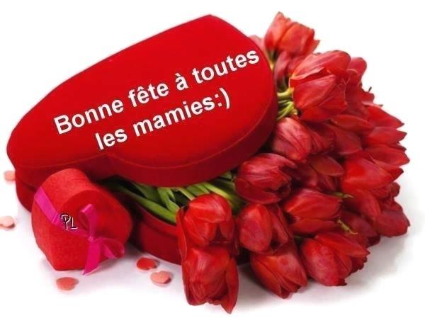 Bonne fête à toutes les mamies !!!!