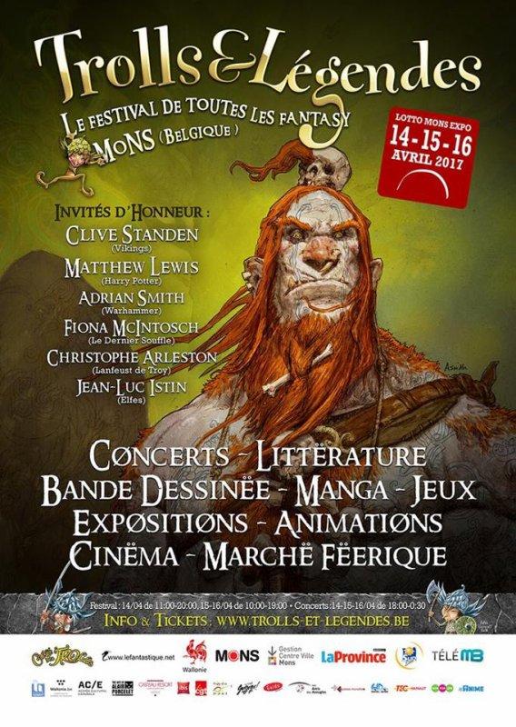 """Souvenirs """"Festival Trolls et Légendes 2017"""""""