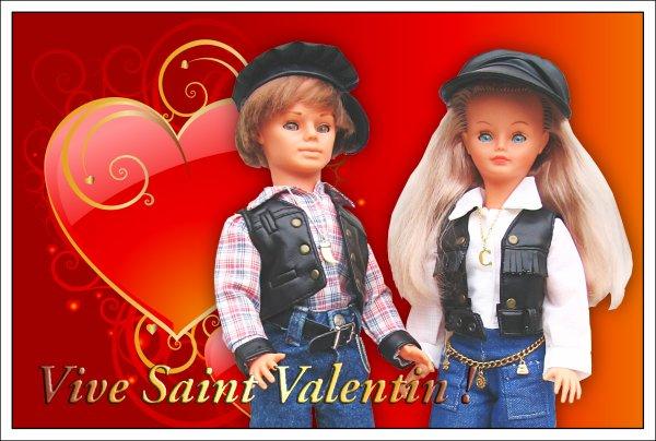 SAINT  VALENTIN  POUR TOUS LES AMOUREUX ...