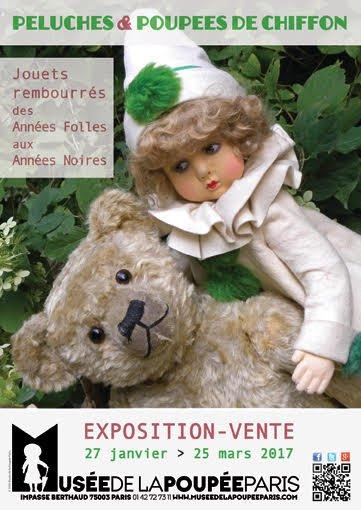 EXPOSITION VENTE AU MUSEE DE LA POUPEE  A PARIS