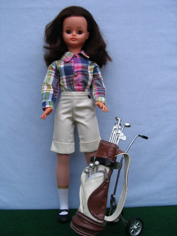 CATHIE EN STAGE DE GOLF