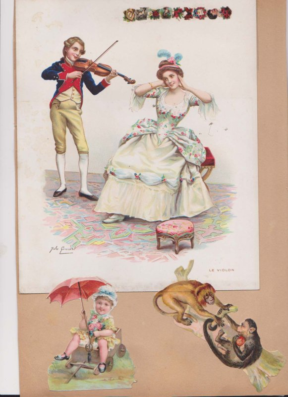 SUITE DES CHROMOLITHOGRAPHIES