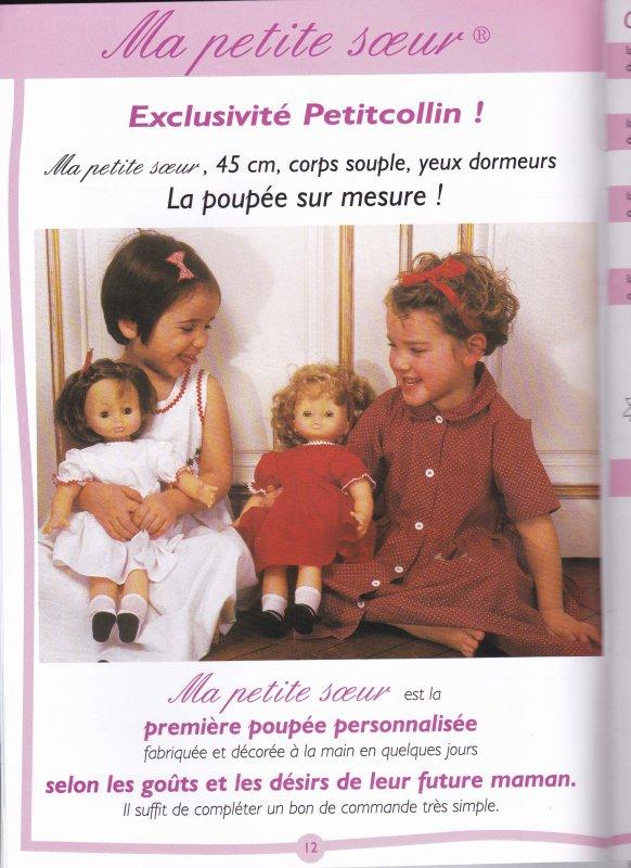 UNE DECOUVERTE SUR LE CATALOGUE PETITCOLLIN 1998/1999