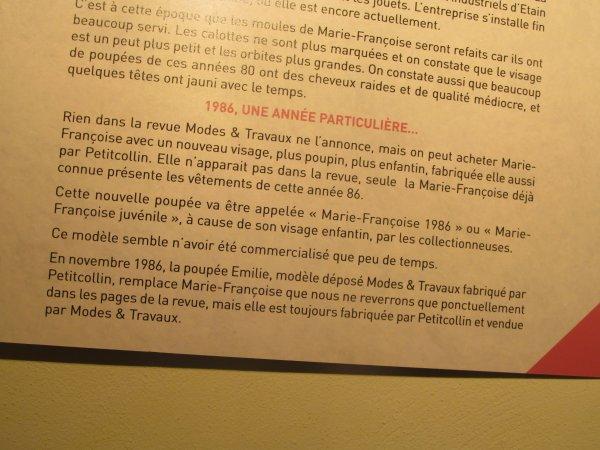 SUITE DE L EXPO DES 60 ANS DE MARIE-FRANCOISE