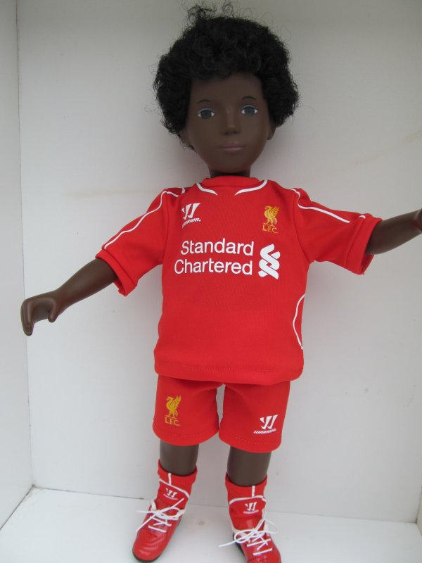 CALEB SUPPORTER DE LIVERPOOL