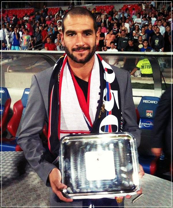 """""""Au-delà de ses buts, Lisandro Lopez laisse une trace indélébile dans l'histoire du club... Un sacré bonhomme..."""""""