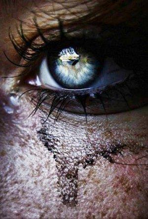 Les larmes cachées