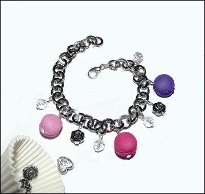 "Bracelet ""Chic Macarons"""