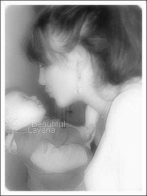 8 ❈ Layana et Wency ·٠• 1 mois, Je preffere souffrire plus que de vivre sans toi mon coeur... •٠· 8