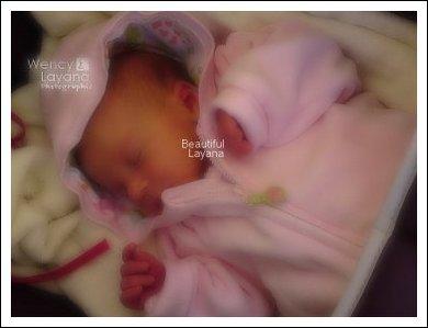 8 ❈ Layana et Wency ·٠• Layana est née le 7 septembre 20l0... •٠· 8