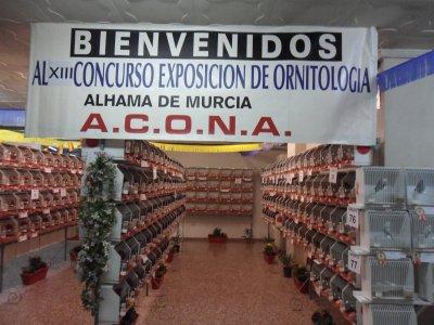 XIII CONCURSO EXPOSIÓN DE ORNITOLOGÍA ALHAMA 2011.-