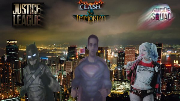 CLASH OF THE IMMORTALS