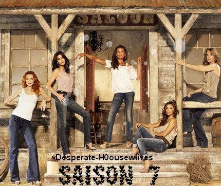 "Desperate Housewives saison 7 : photo promo "" Far West """
