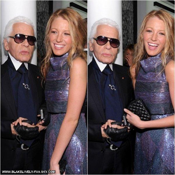 09.09 -  Blake s'est rendue à la réouverture de la CHANEL SoHo Boutique de New York