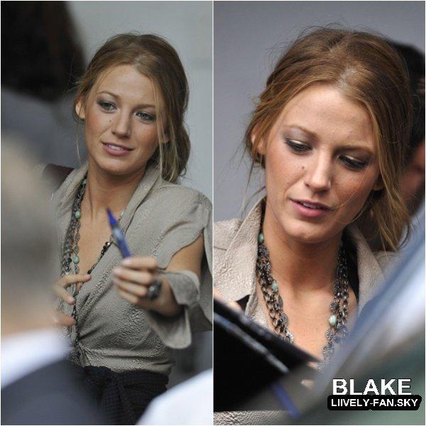10.09 – Blake se trouvait, au Canada à Toronto pour la promotion de son prochain film The Town au Torronto Film Festival