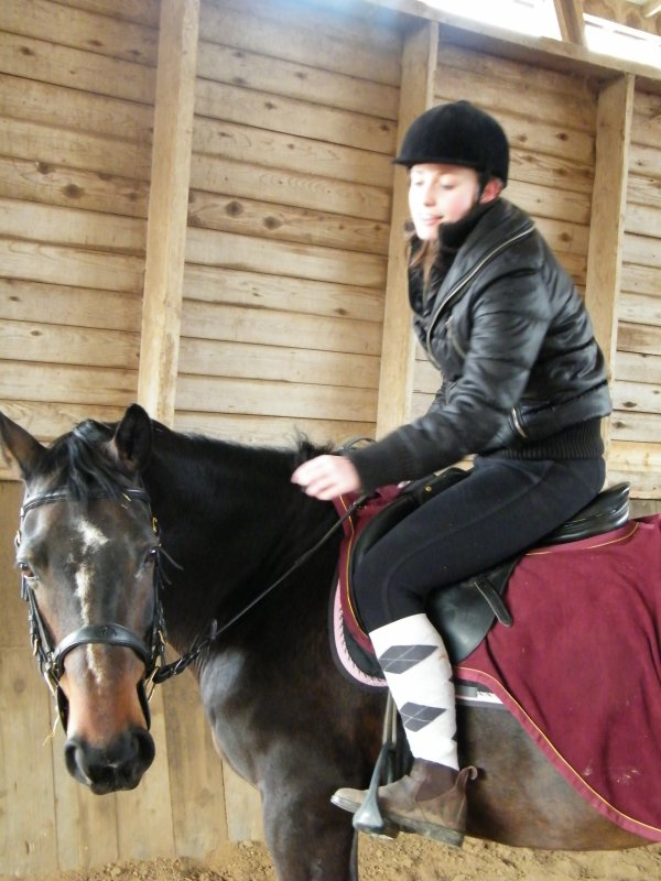 Il n'y a pas de secret aussi intimes que ceux d'un cavalier et de son cheval.