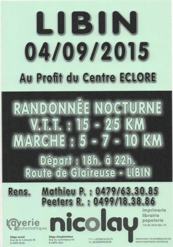 NOCTURNE VTT MARCHE 04/09