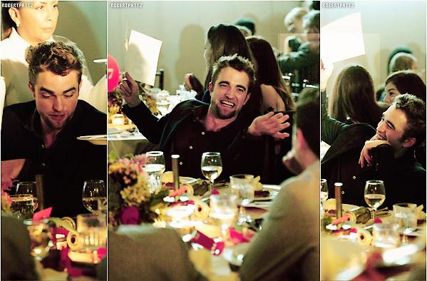 15 novembre 2013 : Le beau Robert présent à la 6e édition de l'événement GO GO Gala - .