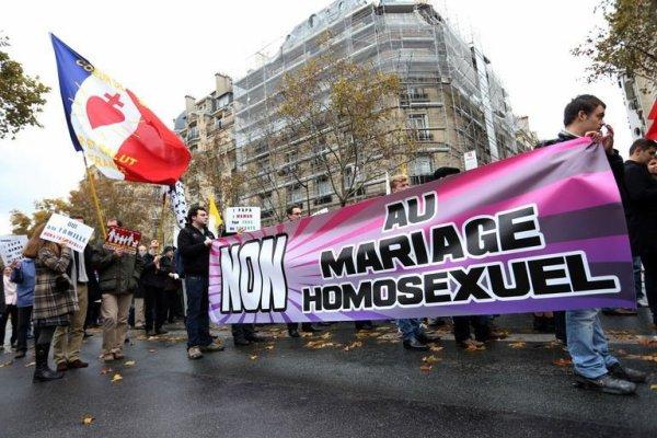 Manif contre le mariage pour tous!!!