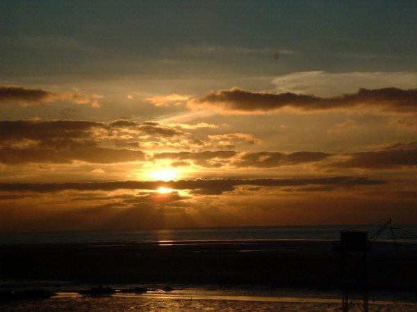 le coucher soleil de st nazaire