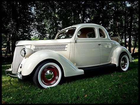 1936 Ford Deluxe Coupe.