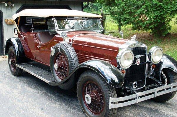 1929 Stutz M Dual