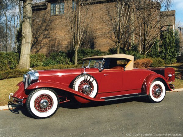 1931 Chrysler CG Imperial Convertible Roadster
