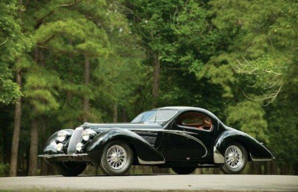 1938-Talbot-Lago T150-C Lago Speciale Teardrop Coupe