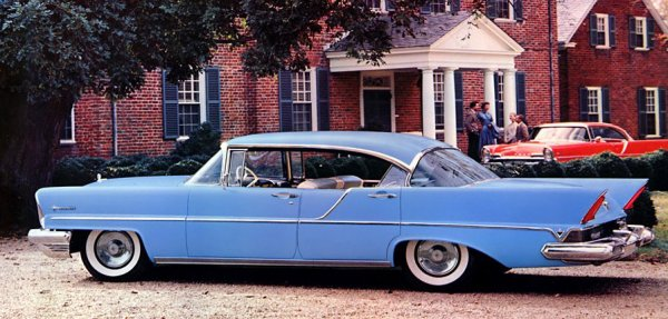 1957 Lincoln Premiere four-door Landau