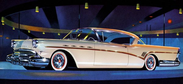 1957 Buick Roadmaster 2 Door Hardtop