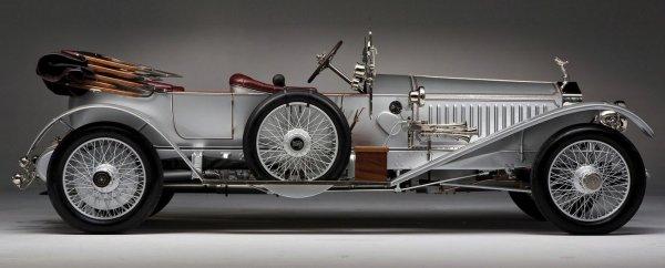 1915 Rolls Royce Silver