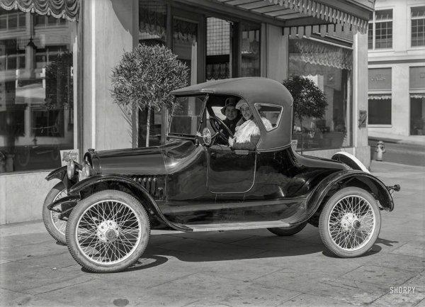 1918 coupé automobile BUICK ROASTER