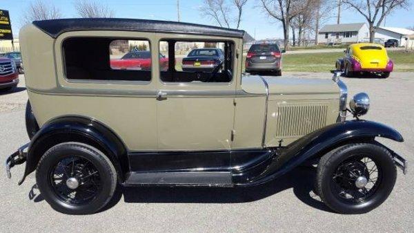 1929 Ford Model A Tudor Coupe