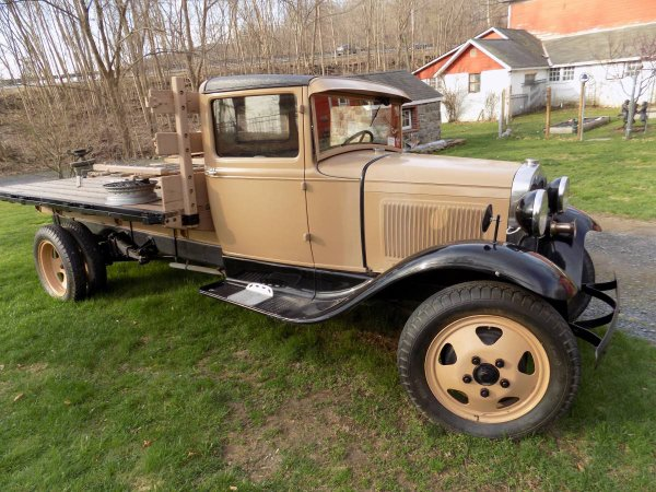 1930 Ford Model AA All Racks
