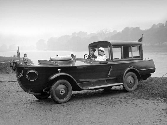 Peugeot - Motor boat Car 1925