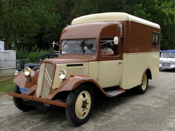 Citroën T 23 camping car-1938