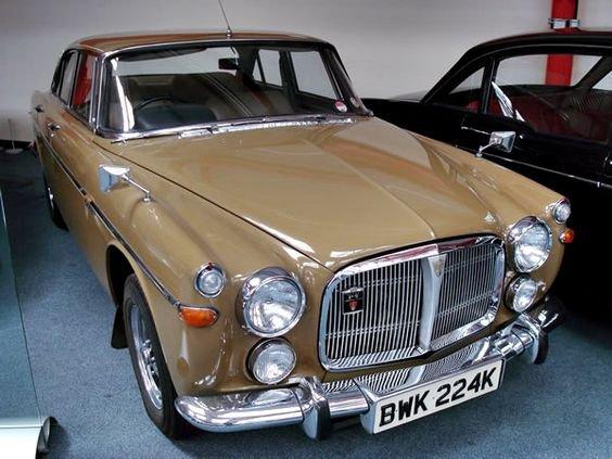 1972 - Rover P5b 3.5 V8